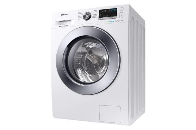 Imagem de Lava  Seca 11 Kg Samsung Eco Bubble Branca com 12 Programas de Lavagem