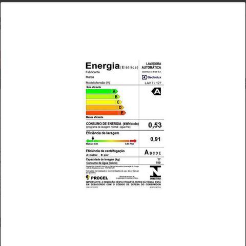 Imagem de Lavadora Automática 10,5 KG Electrolux Turbo Econômica - LAC11