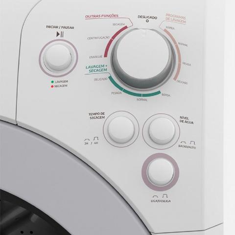 Imagem de Lavadora Automática Lava e Seca Evo 7Kg Branca 127V Mueller