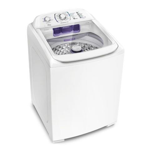 Imagem de Lavadora Branca Electrolux 16 Kg Com Dispenser Autolimpante E Ciclo Silencioso (lpr16)