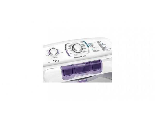 Imagem de Lavadora Branca Electrolux com Dispenser Autolimpante 13 Kg LPR13  220V