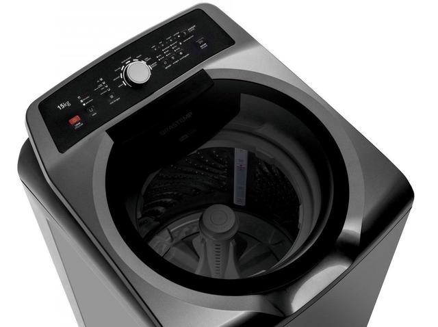 Imagem de Lavadora Brastemp 15Kg Double Wash Grafie 220v BWD15A9
