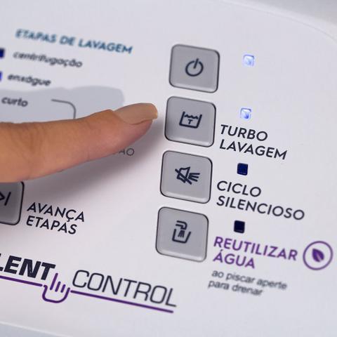 Imagem de Lavadora Compacta Electrolux 12 Kg com Dispenser Autolimpante e Cesto Inox (LAC12)