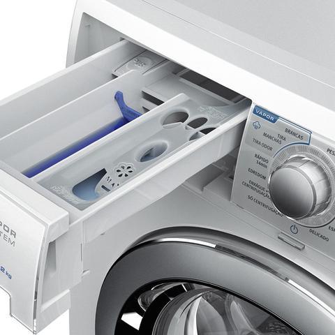 Imagem de Lavadora de roupa Electrolux 10,2kg Front Load com Motor Inverter, Cesto Inox e Sistema Vapor (LFE10)
