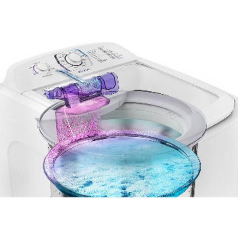 Imagem de Lavadora de roupa lac16 16kg com dispenser autolimpante branca electrolux