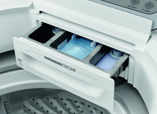Imagem de Lavadora de Roupas 15Kg Automática 220V Branca Brastemp - BWH15