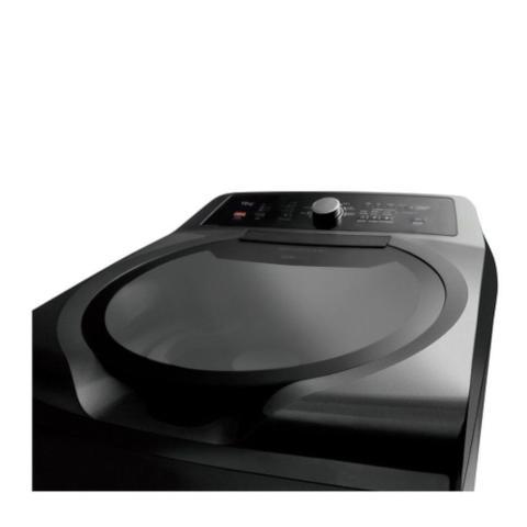 Imagem de Lavadora de Roupas 15Kg Grafite Metálico Double Wash Brastemp 110V BWD15A9