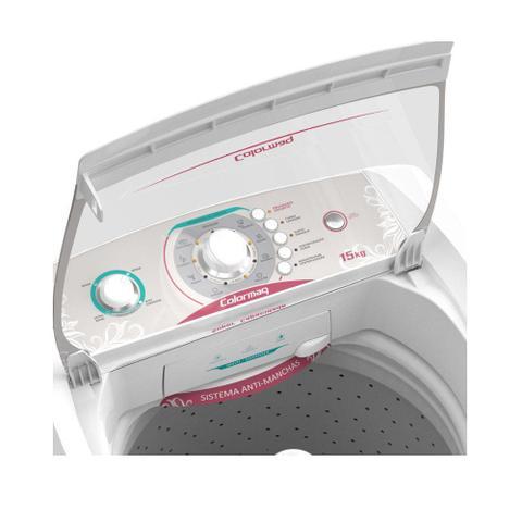 Imagem de Lavadora de Roupas Automática 15KG, 5 Programas de Lavagem Colormaq - LCA15