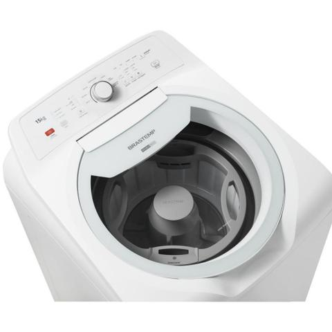 Imagem de Lavadora De Roupas Brastemp 15Kg Double Wash Branca 127V