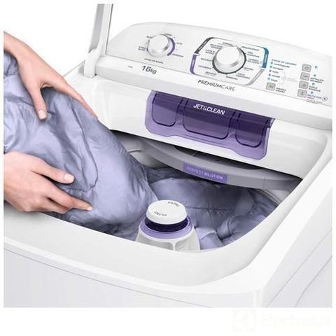 Imagem de Lavadora de Roupas Electrolux 16kg Branca com 12 Programas de Lavagem e Ciclo Silencioso - LPR16