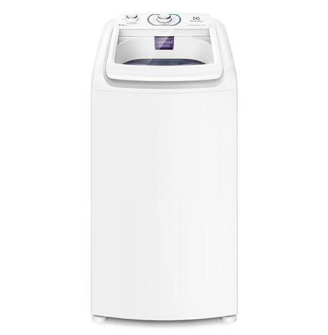 Imagem de Lavadora de Roupas Electrolux 8,5 Kg Branco com 10 Programas de Lavagem e Diluição inteligente - LES09
