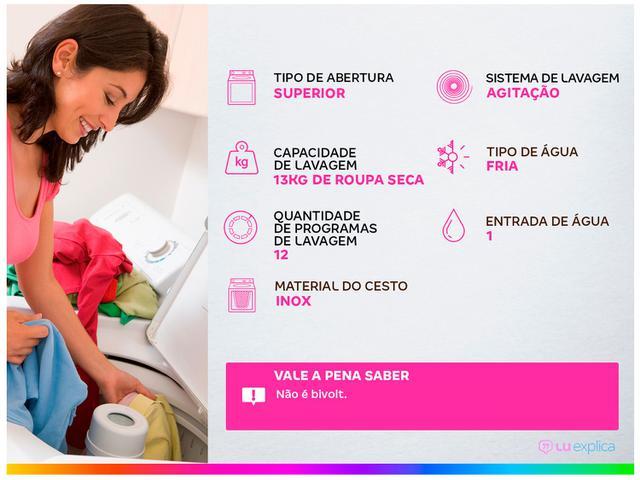 Imagem de Lavadora de Roupas Electrolux Premium Care LPR13