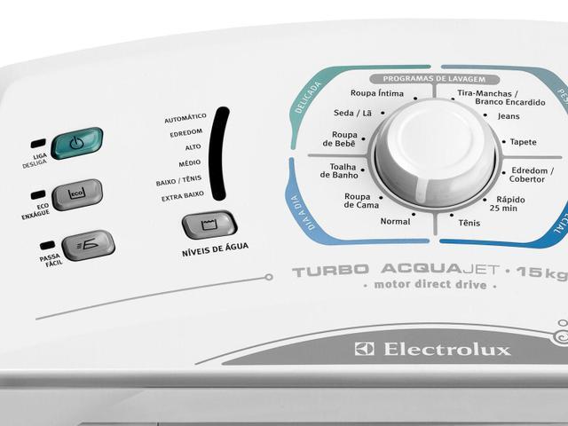 Imagem de Lavadora de Roupas Electrolux Turbo AcquaJet LA15F