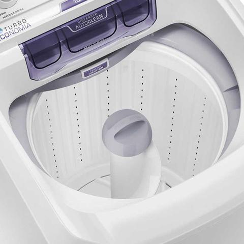 Imagem de Lavadora de Roupas Electrolux Turbo Economia 10,5kg Branca 127v LAC11