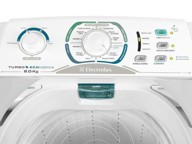 Imagem de Lavadora de Roupas Electrolux Turbo Economia LTE08