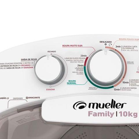 Imagem de Lavadora de Roupas Semiautomática Mueller 10kg Family