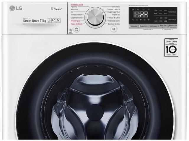 Imagem de Lavadora de Roupas Smart LG VC4 FV5011WG4A Motor