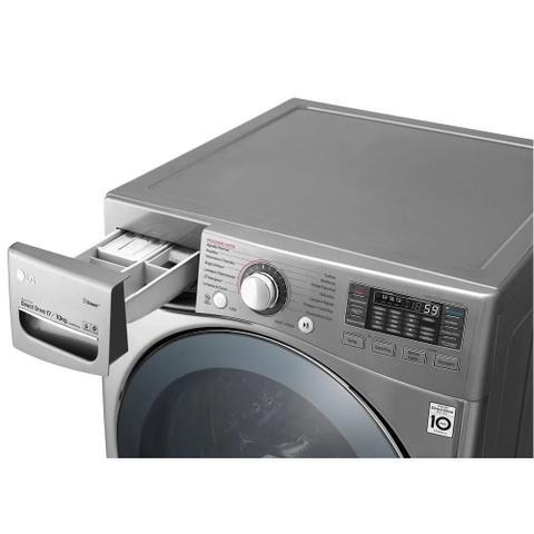 Imagem de Lavadora e Secadora LG New Titan 17Kg Aço Escovado 110V WD17VVS6 Copy