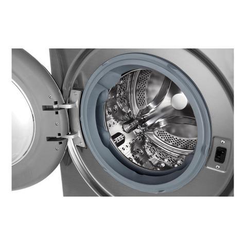 Imagem de Lavadora e Secadora LG Smart VC3 11Kg Aço Escovado 220V CV7011TC4A