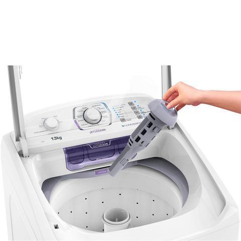 Imagem de Lavadora Electrolux 13kg com Dispenser Autolimpante LAC13