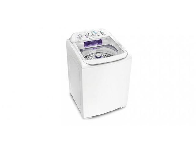 Imagem de Lavadora Electrolux com Dispenser Autolimpante Branca 13 Kg  LPR13  110V