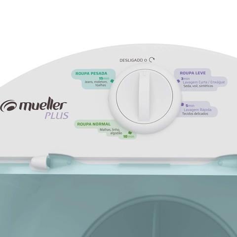 Imagem de Lavadora Semiautomática 4,5kg Plus Mueller 127V Branco