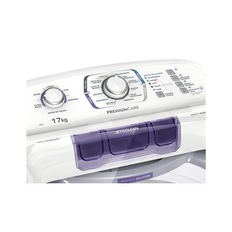 Imagem de Lavadora Turbo Electrolux Branca com Capacidade Premium e Cesto Inox (LPR17)
