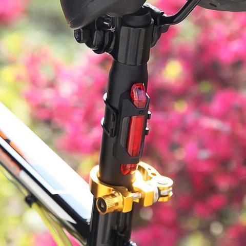Imagem de Led Intermitente Recarregável para Bicicleta Bocal Com Sensor de Presença - LIGHT