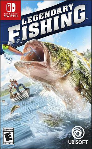 Jogo Legendary Fishing - Switch - Ubisoft