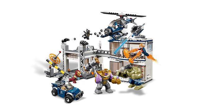 Imagem de LEGO Avengers - Disney - Marvel - Ultimato - Combate no Quartel General - 76131