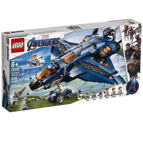 Imagem de LEGO Avengers - Disney - Marvel - Ultimato - Quinjet dos Vingadores - 76126