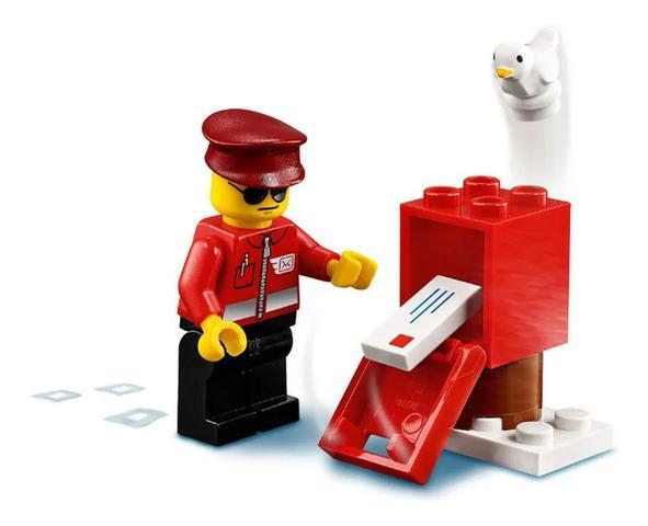 Imagem de Lego City Avião Correio 74 Peças Original - 60250