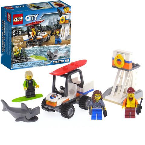 Imagem de Lego city coast guard starter set 60163