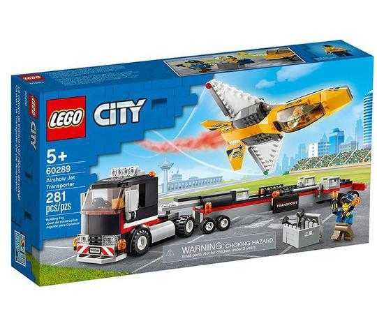 Imagem de Lego City Transportador De Avião De Acrobacias Aéreas 60289