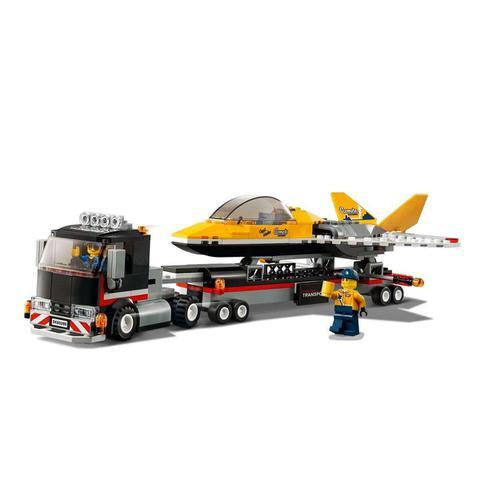 Imagem de Lego City Transportador de Avião de Acrobacias Aéreas - Lego 60289