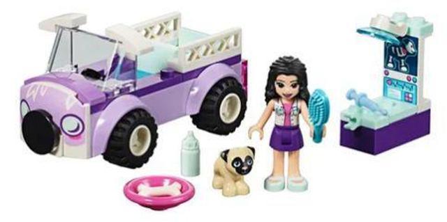 Imagem de Lego Clínica Veterinária Móvel da Emma 50pçs