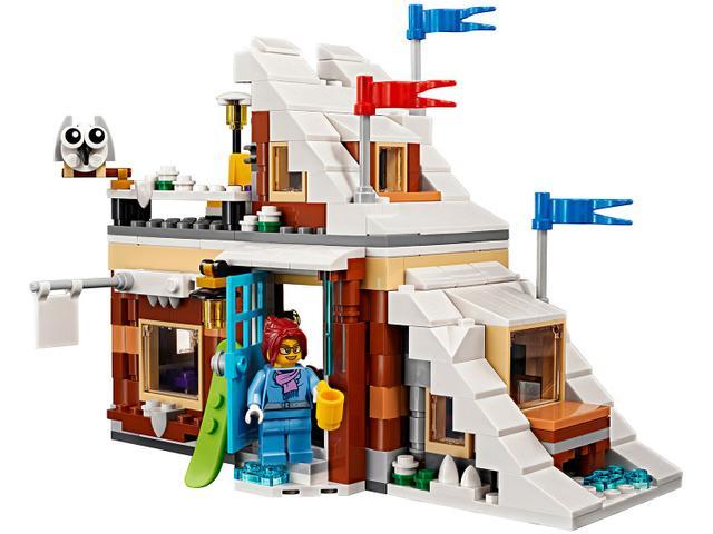 Imagem de LEGO Creator Férias de Inverno 374 Peças
