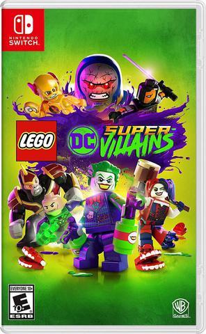Jogo Lego Dc Super Villains - Switch - Warner Bros Interactive Entertainment