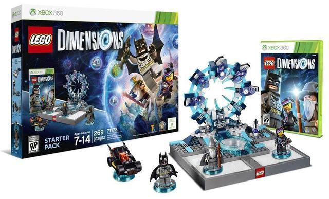 Jogo Lego Dimensions Starter Pack - Xbox 360 - Warner Bros Interactive Entertainment