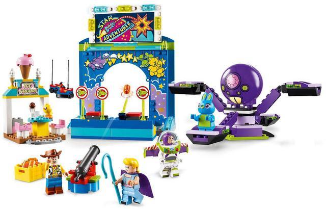 Imagem de LEGO Disney - A Paixão pelo Carnaval de Buzz e Woody 10770 - Toy Story 4