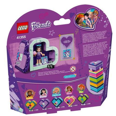 Imagem de LEGO Disney - Frozen - Caixinha Coração da Emma - 41355