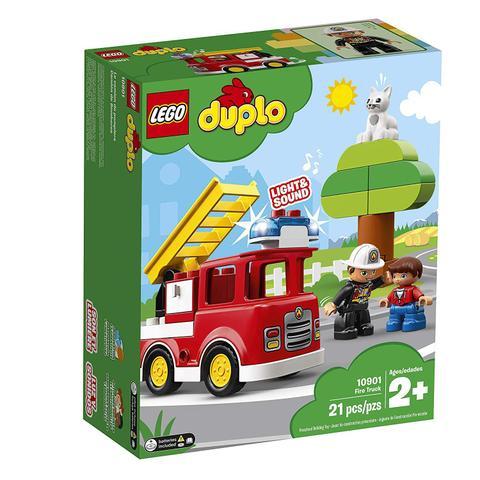 Imagem de Lego Duplo Caminhao dos Bombeiros Infantil 21 Peças 10901