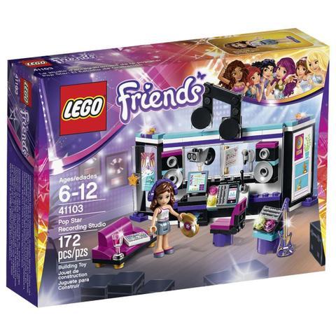 Imagem de LEGO Friends - 41103 - O Estudio De Gravação Da Pop Star