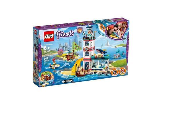 Imagem de LEGO Friends 41380 - Centro de Resgate do Farol