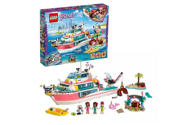 Imagem de LEGO Friends 41381 - Barco da Missao de Resgate