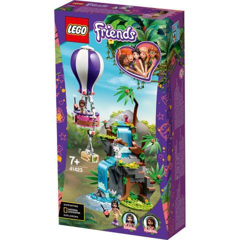 Imagem de Lego friends 41423 tiger hot air balloon jungle rescue
