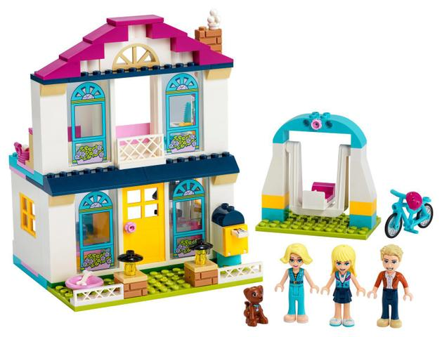 Imagem de LEGO Friends - A Casa de Stephanie 41398