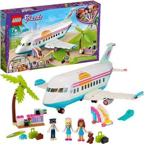 Imagem de LEGO Friends - Avião de Heartlake City 41429