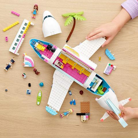 Imagem de Lego Friends Avião De Heartlake City 574 Peças 41429
