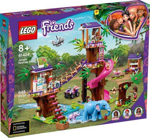 Imagem de Lego Friends - Base de Resgate da Selva LEGO DO BRASIL